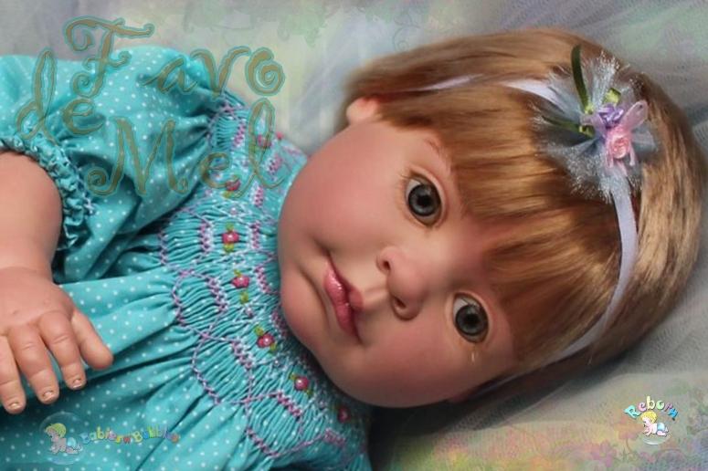 bebe reborn Babies n' Bubbles favo de mel