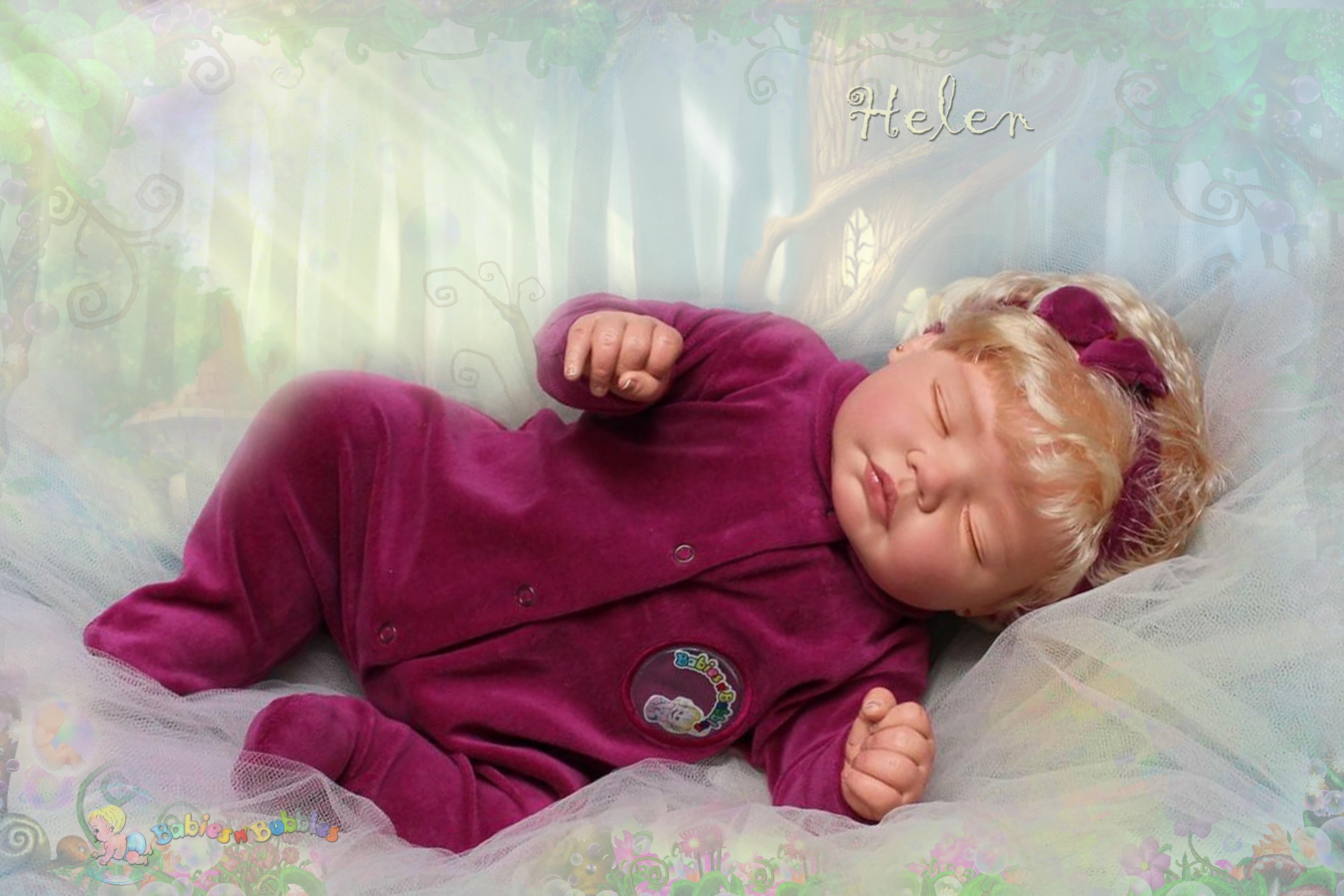 bebê reborn®  Helen BNB-1